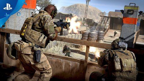 Call of Duty Modern Warfare terá Alpha exclusivo no PS4