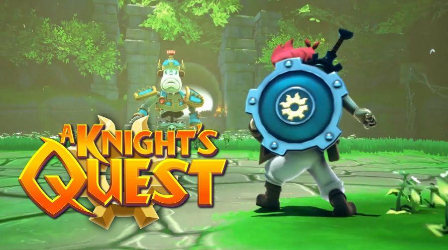 A Knight's Quest é o novo jogo de aventura inspirado em Zelda
