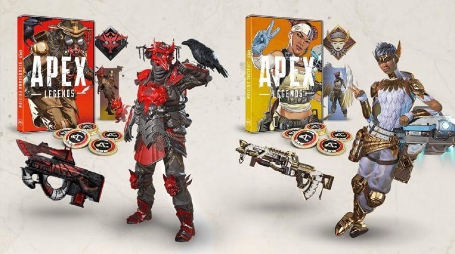 Ué? EA lança edições físicas de Apex Legends sem o disco