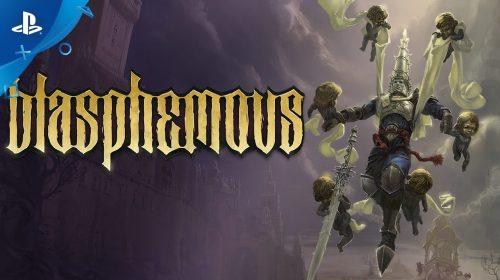 Trailer de lançamento de Blasphemous mostra gore, violência e desafios