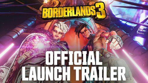 O caos é aqui! Borderlands 3 ganha trailer de lançamento cinemático