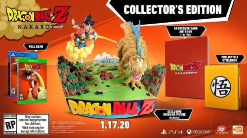 Dragon Ball Z: Kakarot terá edição com a Nuvem Voadora