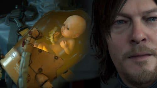 Bebê de Death Stranding vai falar através do DualShock 4