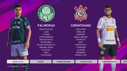 eFootball PES 2020: Konami fala sobre atualização dos times brasileiros