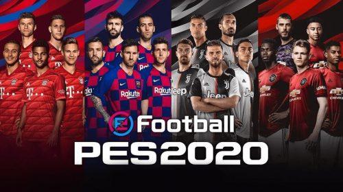 PES 2020 terá atualizações na semana do lançamento