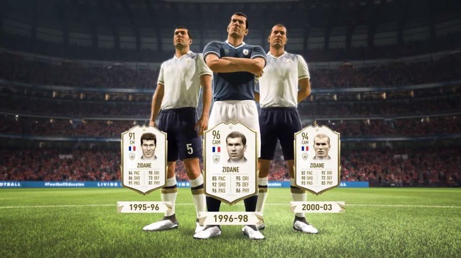 Zidane é monstro! Vídeo de FIFA 20 mostra o rating do atleta