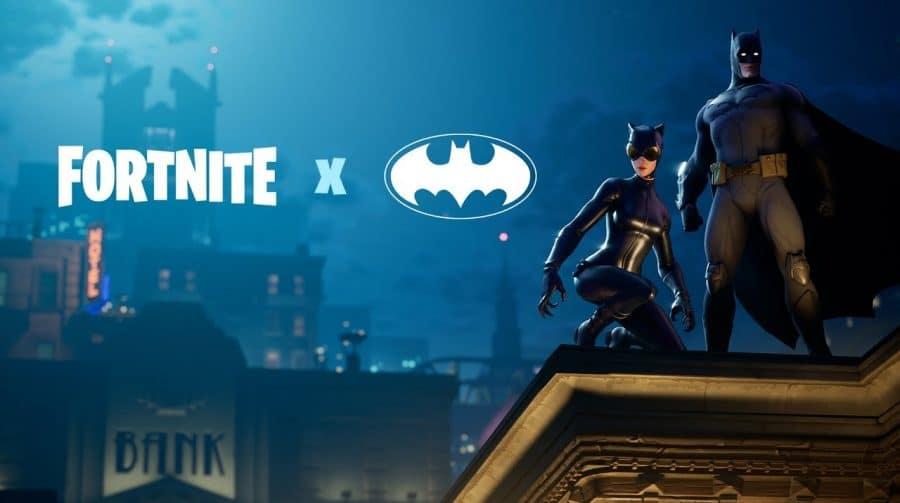 Fortnite + Batman: começa evento crossover em Fortnite