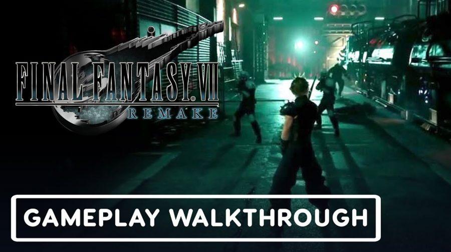 Final Fantasy VII Remake: novos gameplays diretamente da TGS 2019