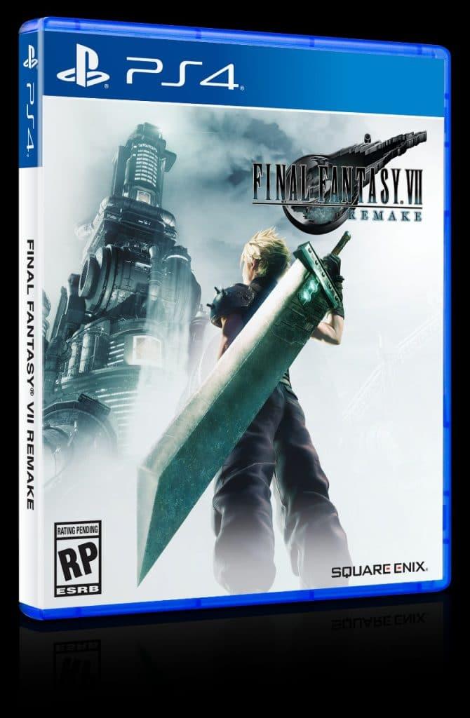 Final Fantasy VII Remake capa