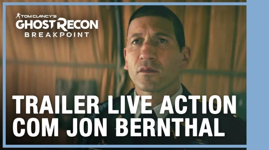 Ghost Recon Breakpoint ganha intenso trailer live-action dublado
