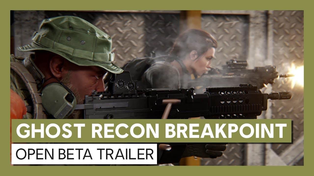 Pre-load da beta de Ghost Recon Breakpoint está disponível