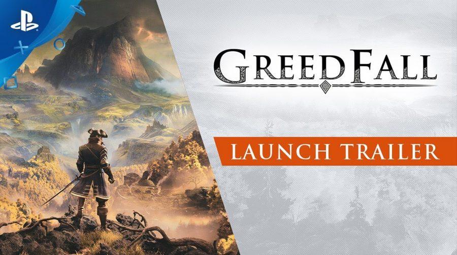 RPG chegando! GreedFall recebe trailer de lançamento