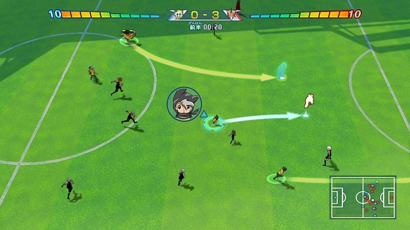 Inazuma Eleven Heroes Great Road