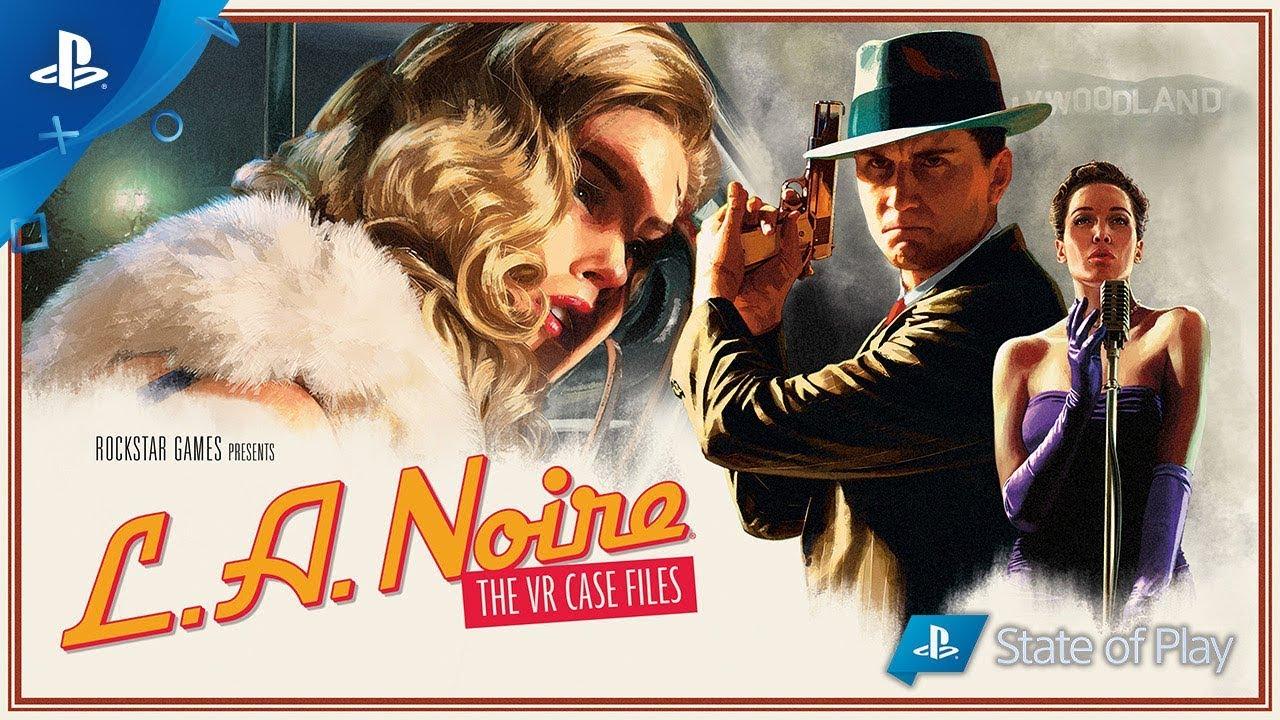 LA Noire: The VR Case Files já disponível para PlayStation VR