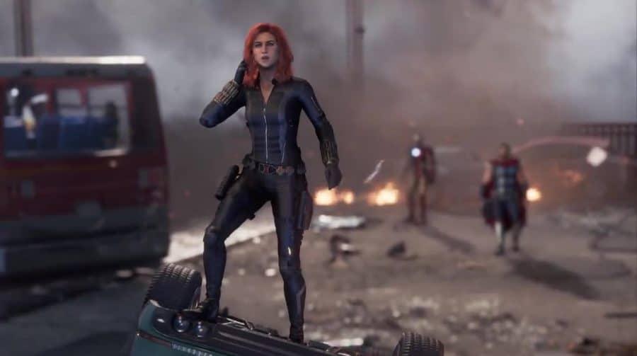 Viúva Negra é a estrela do novo trailer de Marvel's Avengers