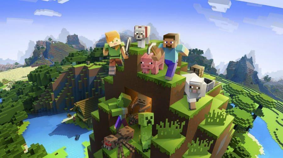 Minecraft tem cerca de 112 milhões de jogadores todos os meses