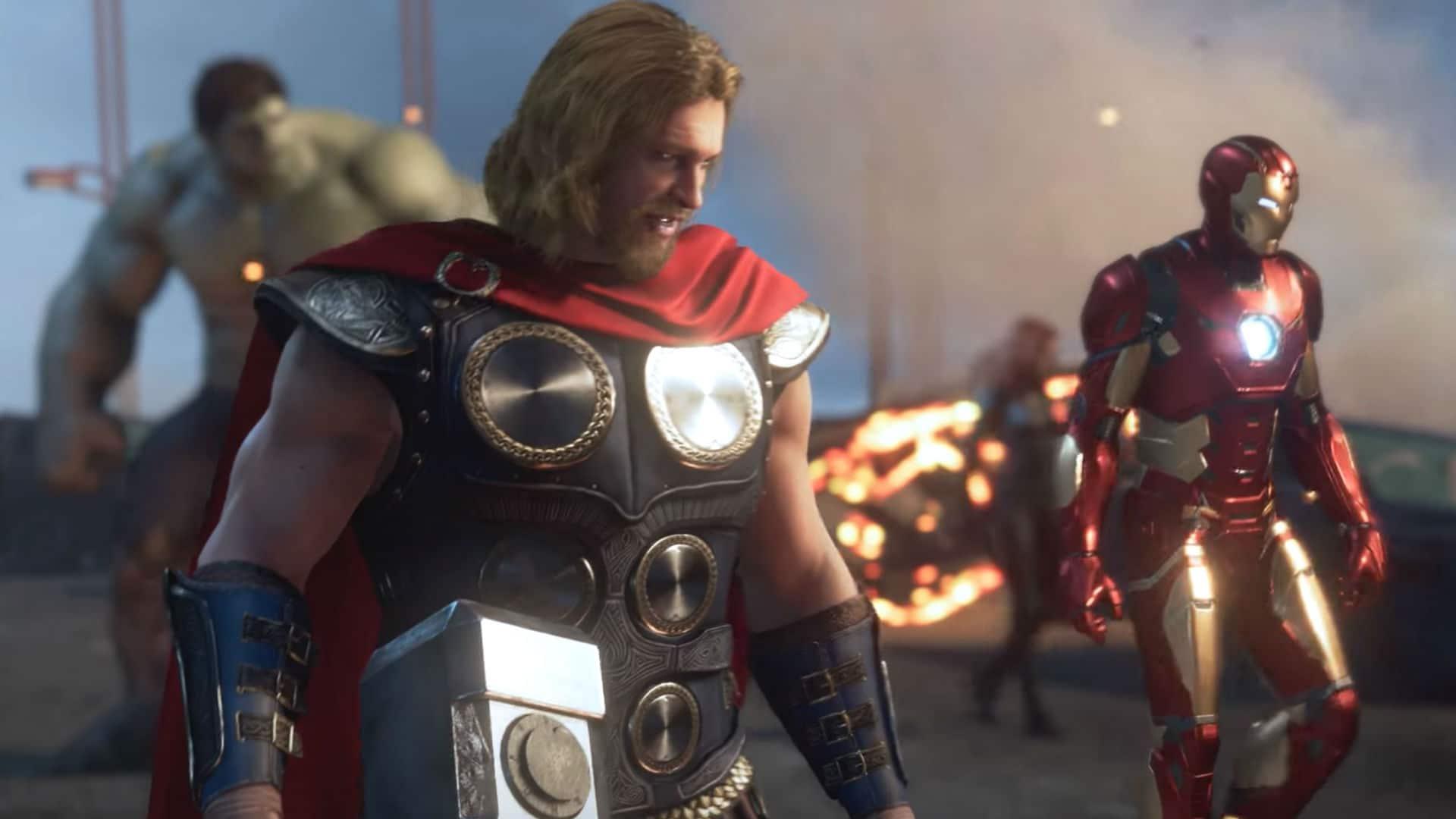 Marvel's Avengers: Thor recebe detalhes de sua jogabilidade