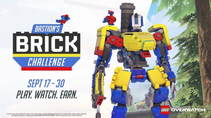 Skin de Bastion baseada em Lego chega ao Overwatch