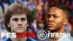 PES 2020 E FIFA 20