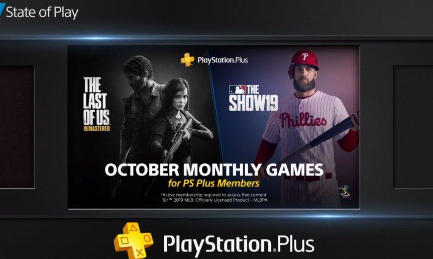 [Oficial] Sony revela PS Plus de outubro de 2019