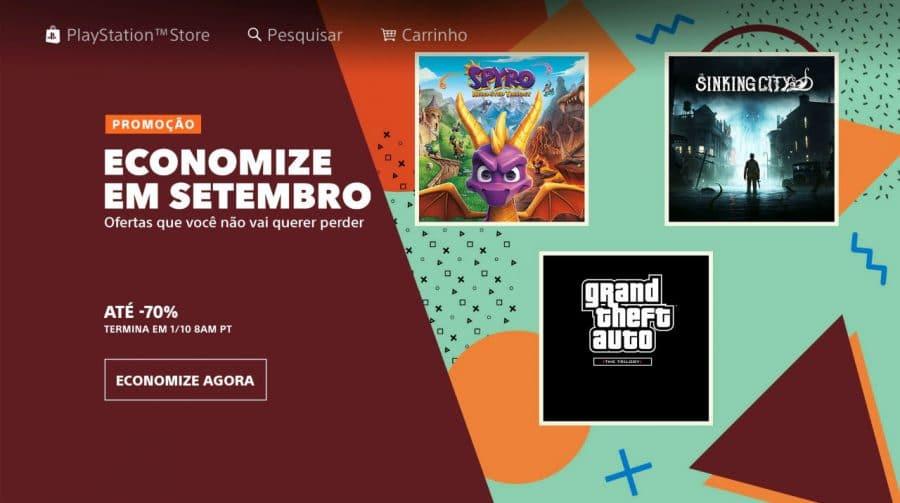 Promoção de Jogos: Sony reduz preços em até 70%!