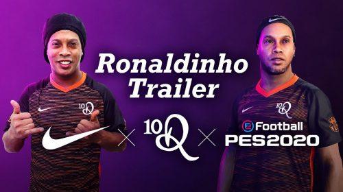 O bruxo! Novo trailer de eFootball PES 2020 traz Ronaldinho