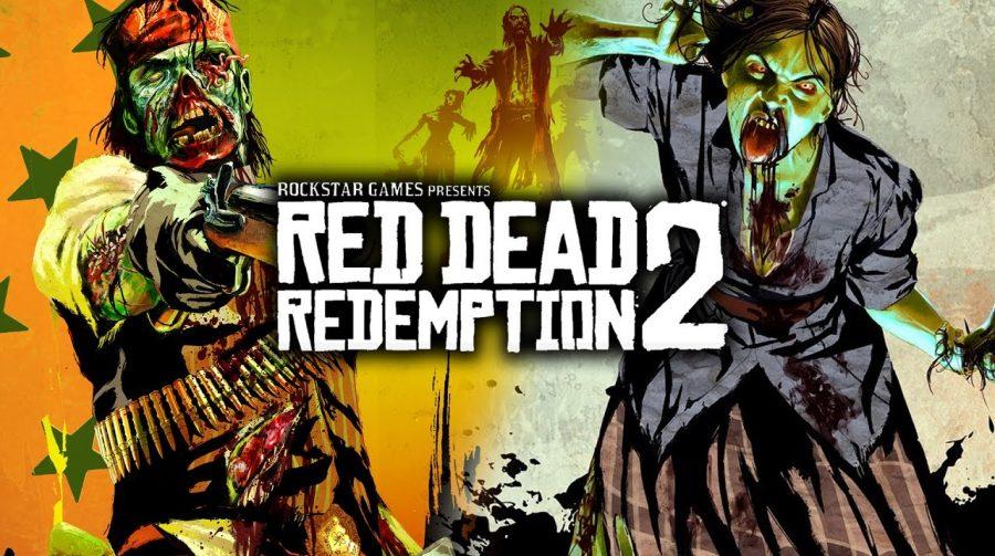 Jogadores estão encontrando zumbis em Red Dead Online