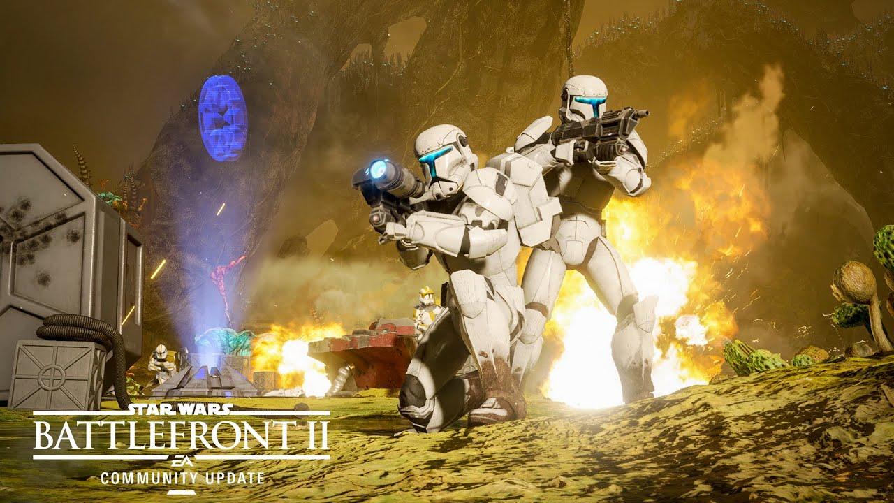 Novo personagem e mapa estarão no update de Star Wars Battlefront 2