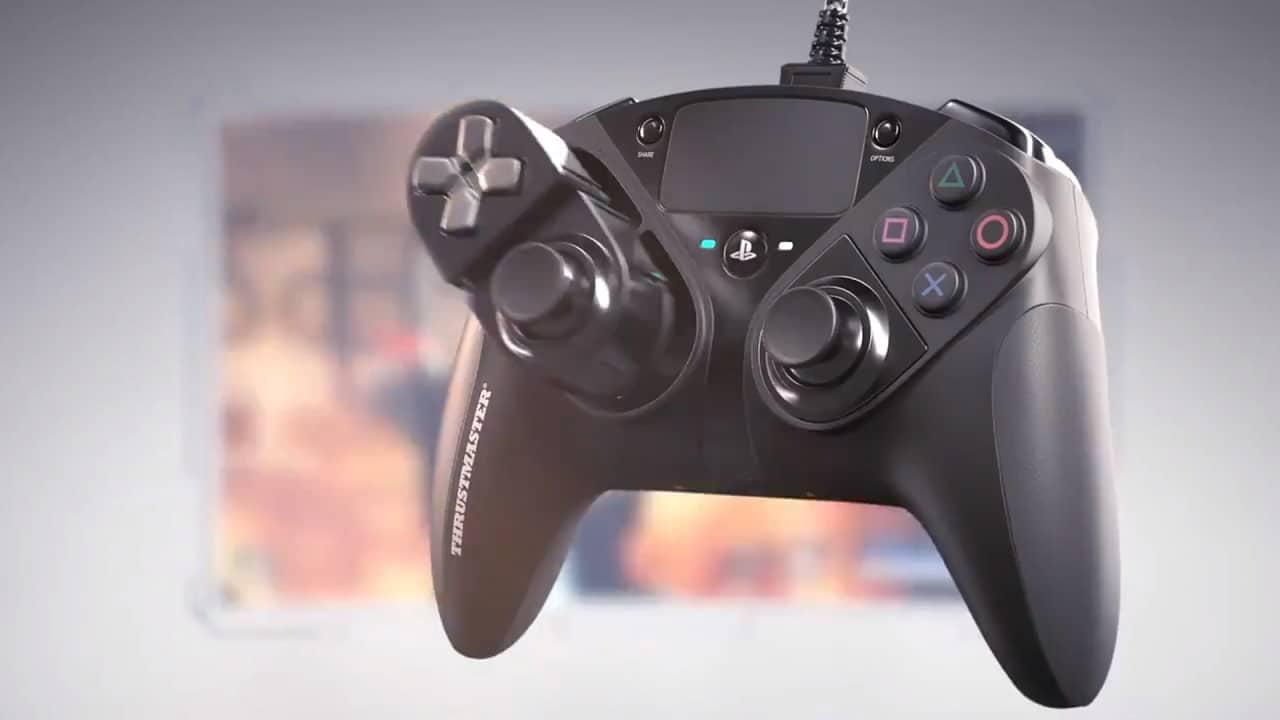 Thrustmaster anuncia novo controle para PS4 com botões ajustáveis