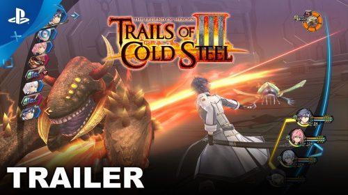 DEMO de Trails of Cold Steel III está disponível na PS Store