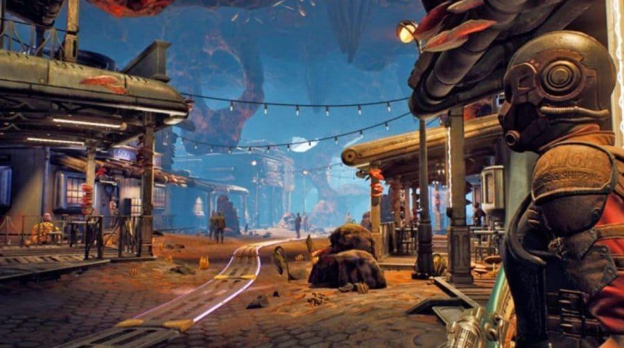 The Outer Worlds ganha 20 minutos da TGS com tiroteio, espada e diálogos