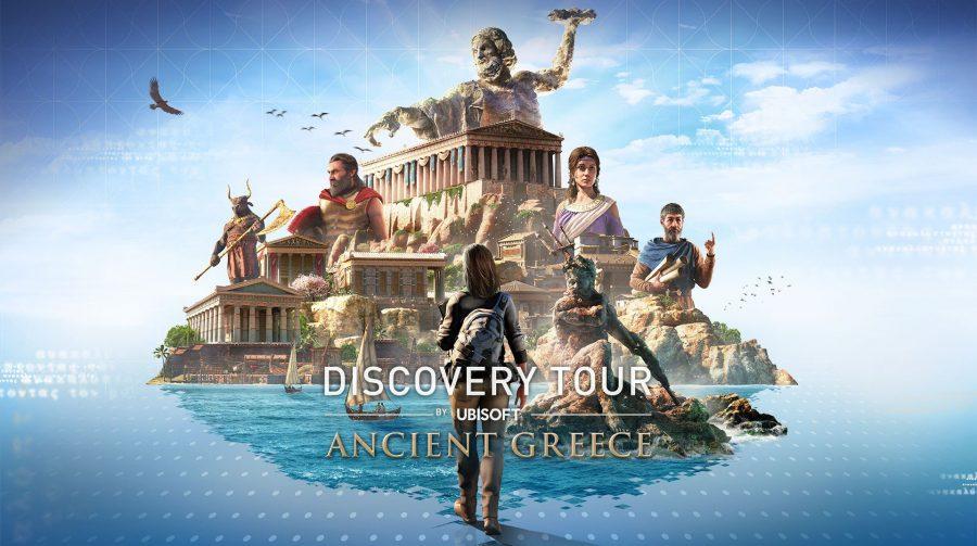 Discovery Tour de Assassin's Creed Odyssey tem data de lançamento anunciada