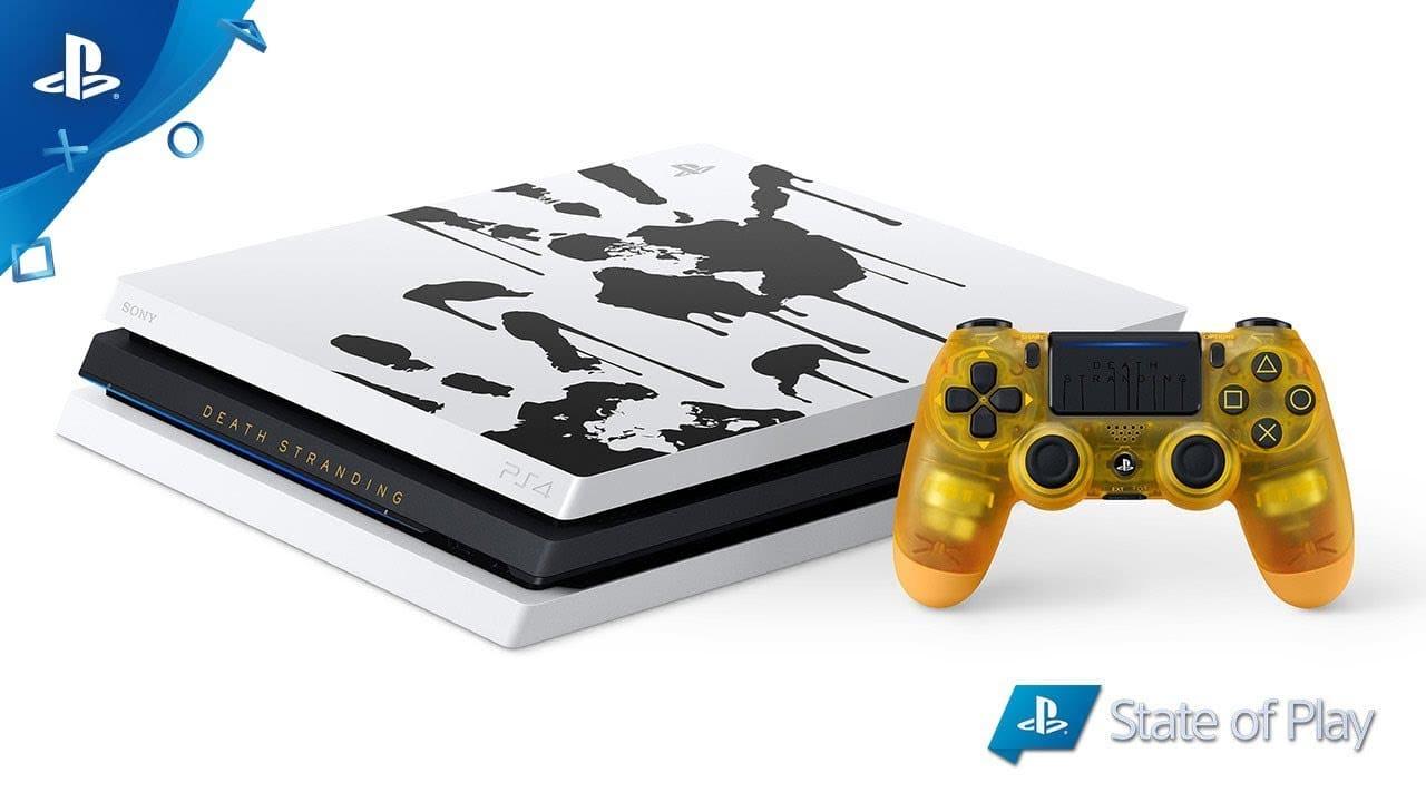 Sony anuncia PlayStation 4 Pro especial de Death Stranding