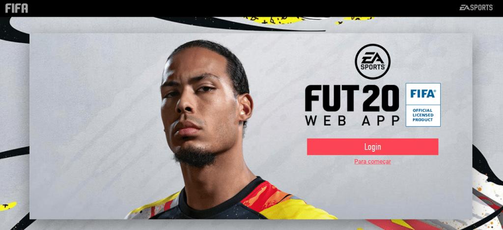 fifa 20 webapp