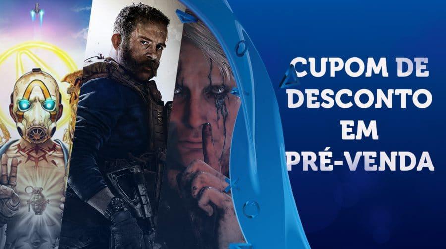 Submarino tem cupom especial de desconto em pré-venda de jogos