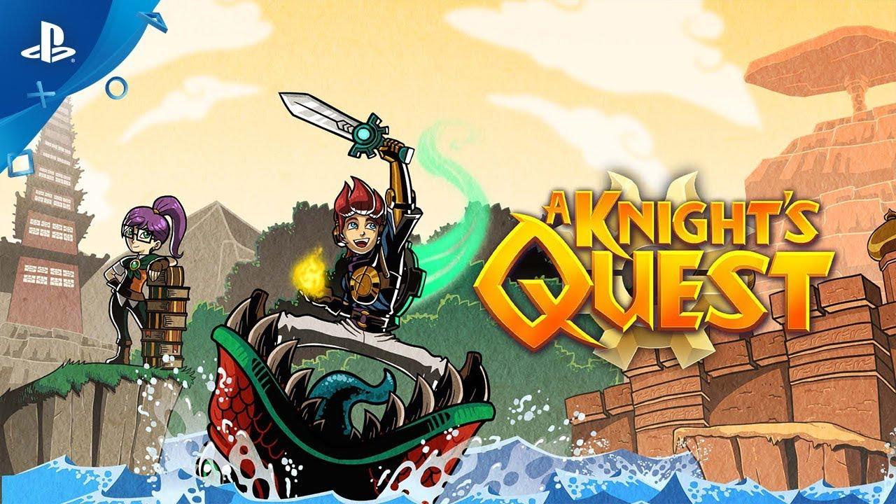 A Knight's Quest, jogo estilo Zelda, será lançado dia 10 de outubro