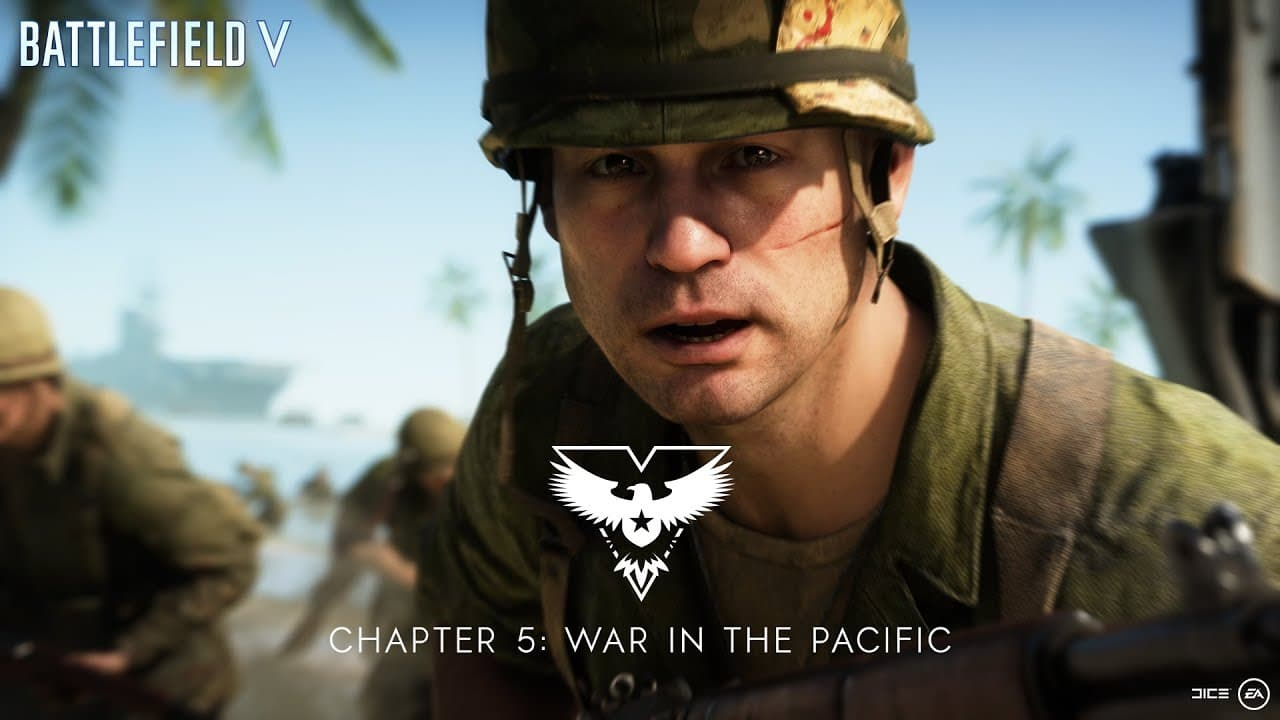 Battlefield V apresenta Guerra no Pacífico e terá período de testes gratuito
