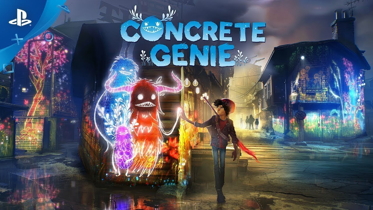 PlayStation revela novo gameplay do exclusivo Concrete Genie