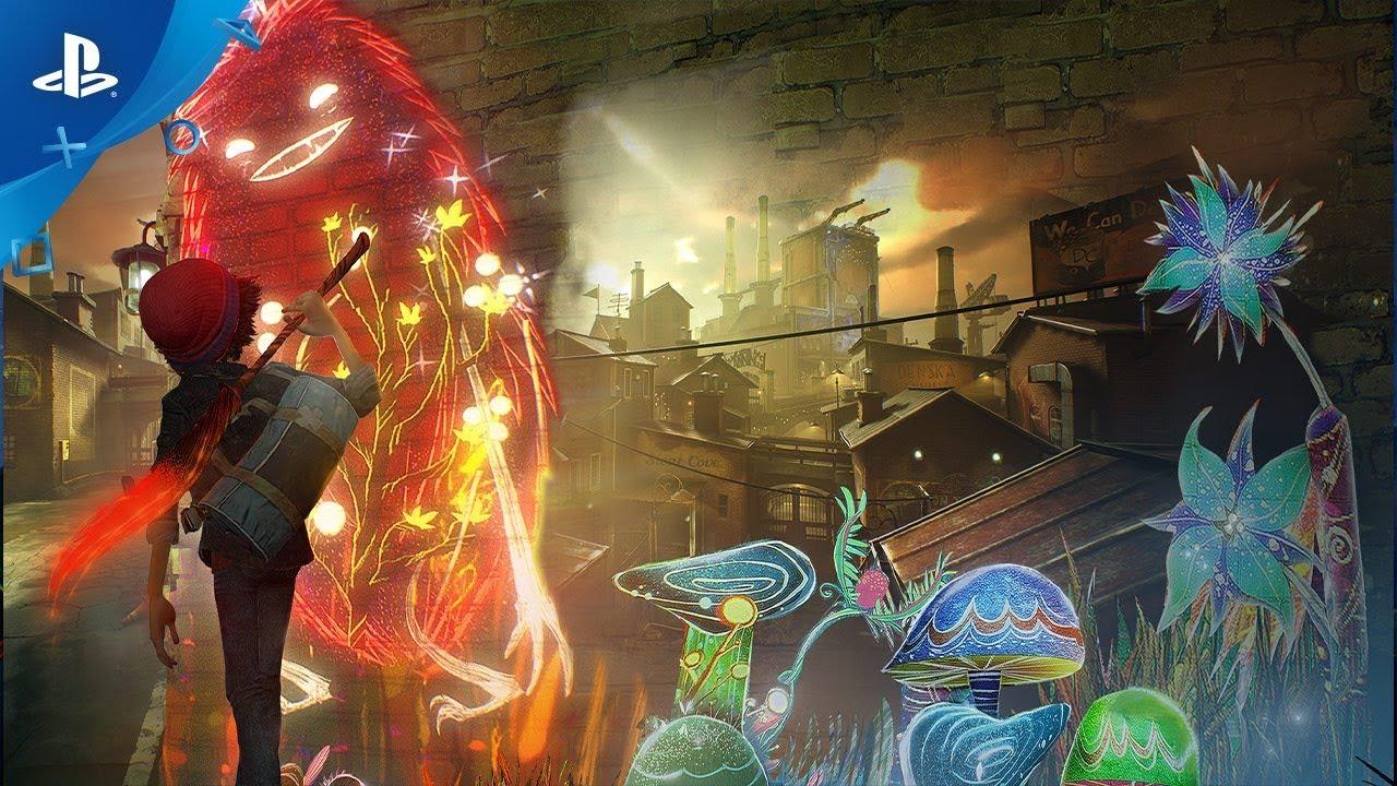 Estúdios da Sony comemoram o lançamento de Concrete Genie