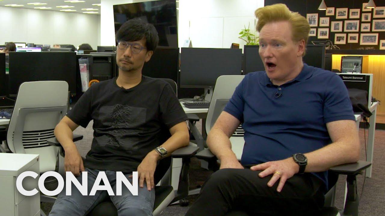 Mais um astro está em Death Stranding: Conan O' Brien