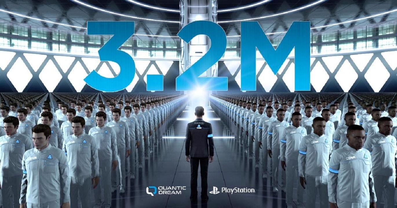 Detroit: Become Human passa das 3 milhões de cópias vendidas
