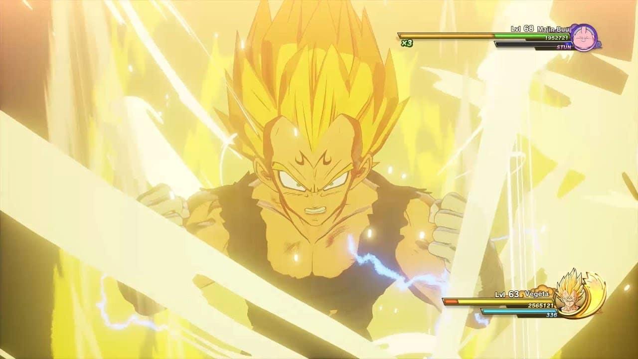 Novo trailer de Dragon Ball Z: Kakarot mostra o Majin Vegeta