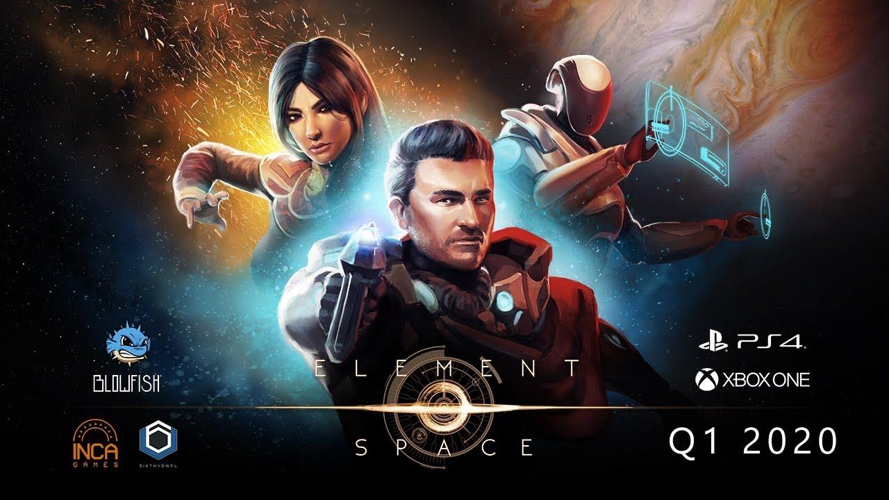 Element Space, jogo RPG espacial, chegará ao PS4 em 2020