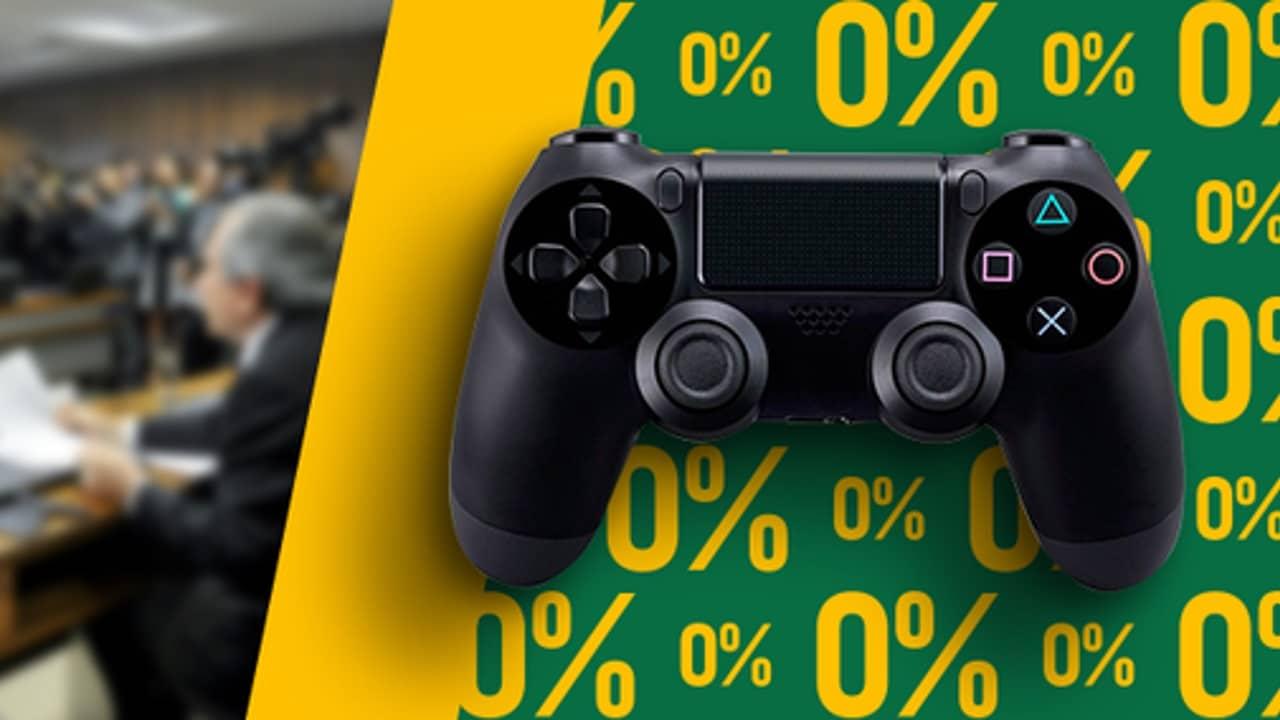 Votação sobre isenção de impostos em games deve acontecer em fevereiro