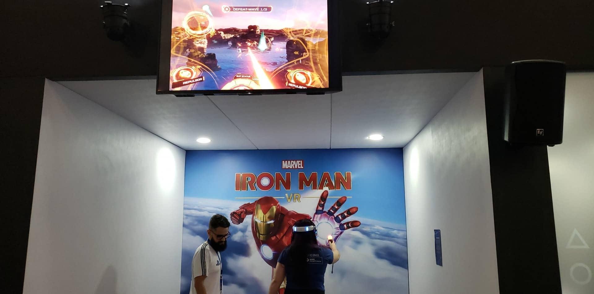 Testamos na BGS: Iron Man VR realiza o sonho de toda criança 4