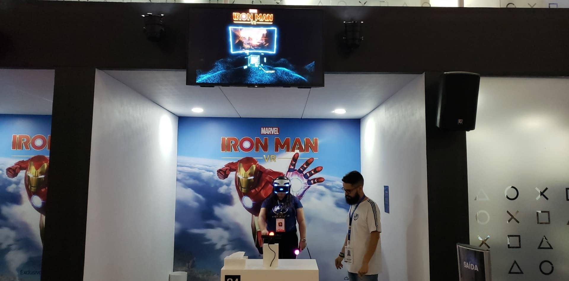 Testamos na BGS: Iron Man VR realiza o sonho de toda criança 1