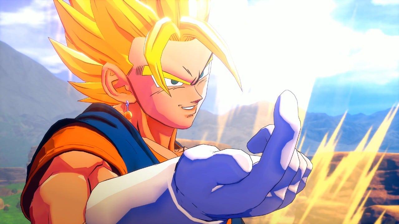 Imagens mostram Vegito em ação em Dragon Ball Z Kakarot