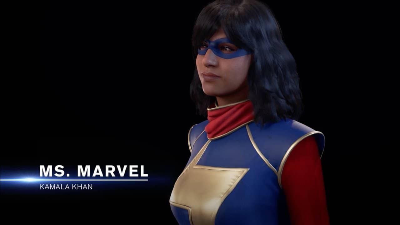 Marvel's Avengers ganha trailer focado no traje da Miss Marvel