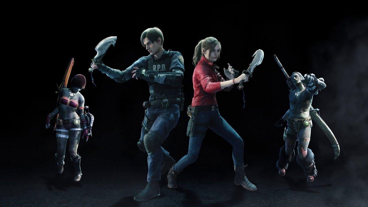 Capcom anuncia crossover de Resident Evil 2 em Monster Hunter World