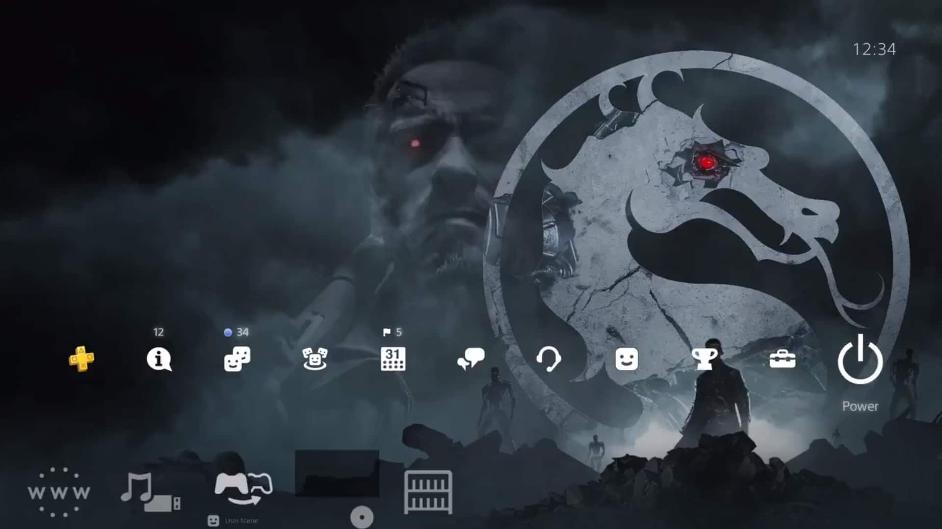 Sony lança tema gratuito para PS4 de Mortal Kombat 11